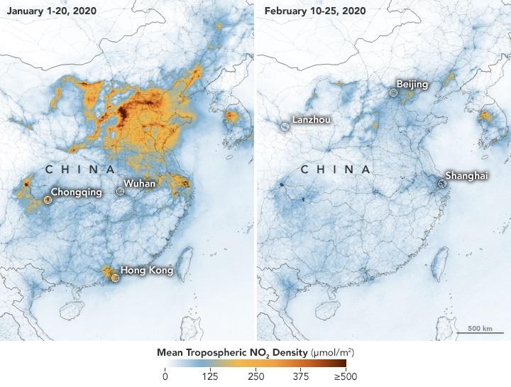Trung Quốc trước và sau đại dịch covid 19 Jan-Feb 2020