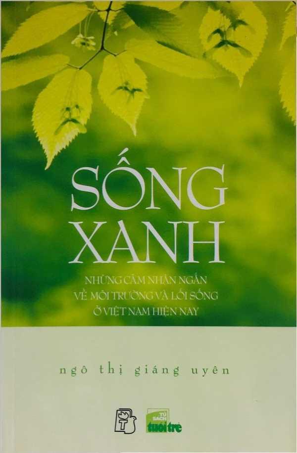 Sách Sống Xanh - Ngô Thị Giáng Uyên - Bìa trước